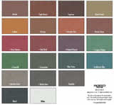 Consolideck ColorHard Color Chart - Floor Stain