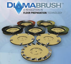 Malish Diamabrush Floor Preparation Tools